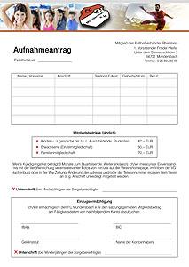 Aufnahmeantrag FC Mündersbach